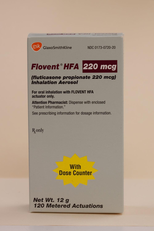 fluticasone (inhalation)